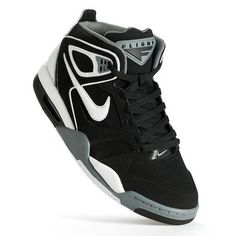 80c22966 Nike Black Air Flight Falcon Men's Basketball Shoes 8.5 Nike Air Flight, Mens  Nike Air