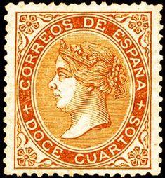 REINADO DE ISABEL II - AÑO 1869. Isabel II