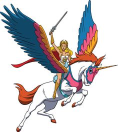 She Ra, Princess of Power!