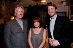 """Dᴏɴ'ᴛ. Lɪᴇ. Tᴏ ᴍᴇ."", 2007 - Alan Rickman and Rima Horton at an unknown..."