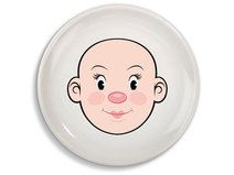 Talerz dla dziewczynki Mrs Food Face