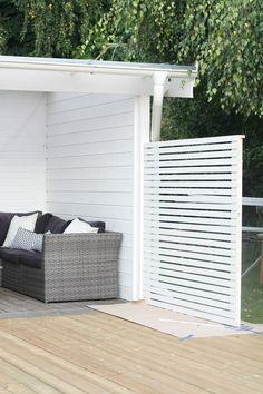 - inredning för ditt hem & trädgård! Outdoor Spaces, Outdoor Living, Ledge Lounger, Beauty Studio, Back Patio, Back Gardens, Garden Planning, Outdoor Furniture, Outdoor Decor