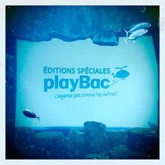 #playbac Comme un poisson dans l'eau...