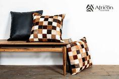 Cojín Etiopia - African Leather, decoración para el hogar. Hazlos como tu los sueñas, en la medida, tamaño y color que quieras.