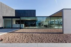 THE NEW OUTDOOR BUILDING FOR OBUMEX by Govaert & Vanhoutte architects