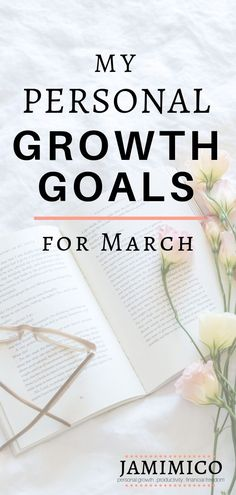 Each month, I share my personal growth goals to help other women with short term goal ideas. Check out my personal growth goals for March! Positive Thinking Tips, Feeling Burnt Out, Highly Effective People, Short Term Goals, Goal Quotes, Thing 1, Self Improvement Tips, Love Your Life, Setting Goals