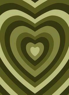 Hippie Wallpaper, Green Wallpaper, Heart Wallpaper, Iphone Background Wallpaper, Aesthetic Backgrounds, Aesthetic Iphone Wallpaper, Aesthetic Wallpapers, Foto Poster, Poster Wall