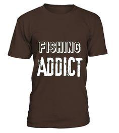 Fishing Addict Hobby T-shirt