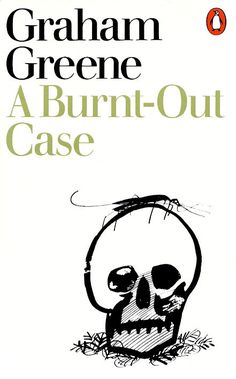 1975 'A Burnt-Out Case' cover by Paul Hogarth