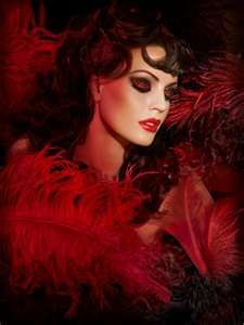 Moulin Rouge Make Up  @Jessa Youngblood Mineral Cosmetics, doing this style for my next photo shoot! So fab!!