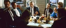 Top 10 Times A Table Became An Additional Character In A Quentin Tarantino Film Reservoir Dogs, Steve Buscemi, John Travolta, Pulp Fiction, Toy Story, Madonna, Cinema Times, Dog Films, Quentin Tarantino Films