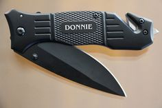 Gift for Groomsmen, Pocket Knife, Engraved Folding Hunting Knives, Groomsman Gift, Best Man Gift, Custom Knives, Rescue Knife, Personalized $22.99