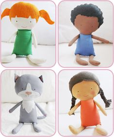 Elf Pop Handmade Dolls, Toys, Doll and Toy Patterns