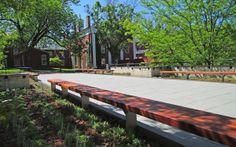 SITEWORKS STUDIO :: Charlottesville landscape architecture and garden design BENCHES