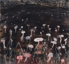 Anselm Kiefer (German, b. 1945), Todtnauberg, 1980. Oil on canvas, 154.9 x 165.1 cm.
