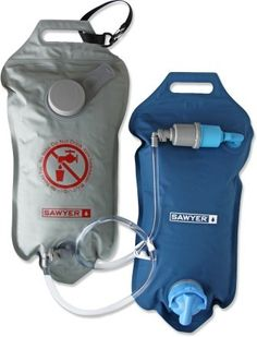 Sawyer Complete water treatment system, 4 liters, Million Gallon Guarantee, essentially eliminating the need to ever have to replace the filter cartridge