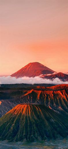 iPhone X HD Wallpaper red mountain nature wonderful Iphone Wallpaper Hd Nature, Hd Nature Wallpapers, Best Iphone Wallpapers, New Wallpaper, Wallpaper Backgrounds, Volcano Wallpaper, Hello Wallpaper, Unique Wallpaper, Backgrounds Free