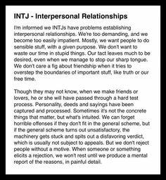 INTJ Introverts