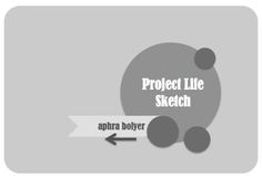 My Scrappy Life: Project Life: Week 29 & a Sketch
