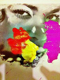 #black #diva #soul The #beginning - @gustavoboroni is an #artist that has created a #visual #language to represent multiple dualities.He work is a combination of #photography and #painting . #urban #fashion #instafashion #brushes #concept #beauty @fashionftw @fashioninstagram1 #instabeauty novo trabalho saindo do forno minhas fotografias e minhas pinturas juntas em uma so moldura. #frame
