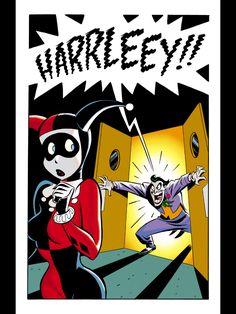 Harley Quinn - Joker - Bruce Timm