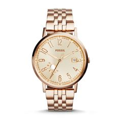 #Fossil VINTAGE MUSE in Rose Gold