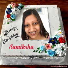 Create Birthday Cake With Photo And Names