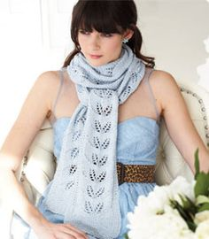 Free pattern on Vogue Knitting -- this one is super simple and can be made with 1-2 skeins of Cascade Ultra Pima, come see one at the shop.