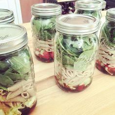 Spinach, Mozzarella, and Tomato Pasta Salad
