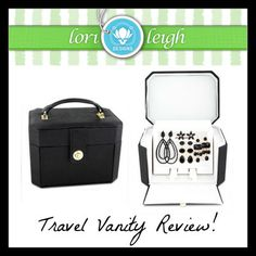 Lori Leigh Designs Travel Vanity Review! | Fun With Four