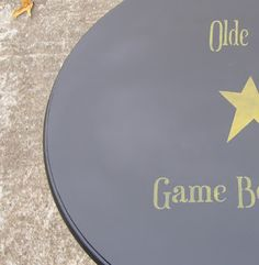 Booth 555: STENCILED OLD CROW GAME BOARD TABLES plus ANIMALS GONE WILD