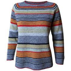 Gavstrik er strikke i A-facon og giver dermed en god pasform. Strikket i tynd uld på pind nr. 3. Den tynde uld er dejligt at have på hele året. Rigtig god fornø Crochet Classes, Knitting Machine Patterns, Facon, Stripes Design, Sweater Fashion, Bunt, Knitwear, Knit Crochet, Textiles