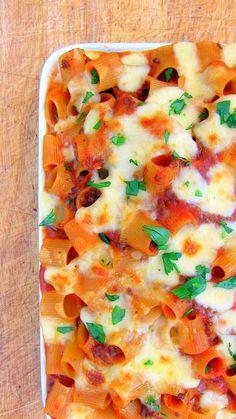 Pasta Casserole (pressure cooker recipe)