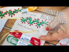 9 Puntada decorative made Luzkita decorativa Easy Hand a embroidery Bordado con mano stitch 9 z7zp4U8r