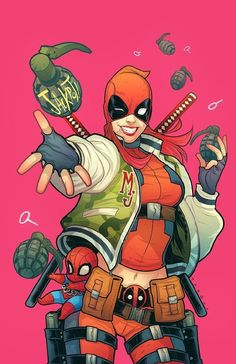 Deadpool MaryJane Variant
