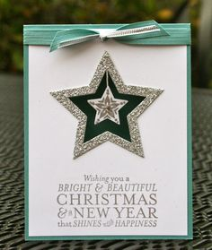 Krystal's Cards and More: Bright & Beautiful Card Kit Silver