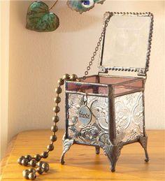 Stained Glass Keepsake Box..