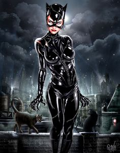 Cosplay Cat Woman Michelle Pfeiffer catwoman in gotham Batgirl, Batman Und Catwoman, Batman 1, Joker, Archie Comics, Dc Comics, Heros Comics, Comics Girls, Comic Book Characters