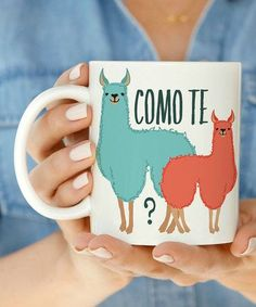 Como te Llamas 11 oz or 15 oz Coffee Mug This listing is for a 11 oz or 15 oz Coffee Mug Ceramic Professionally Made, Dishwasher Safe. Alpacas, Cute Mugs, Funny Mugs, Funny Coffee, Cute Coffee Mugs, My Coffee, Coffee Cups, Coffee Time, Morning Coffee