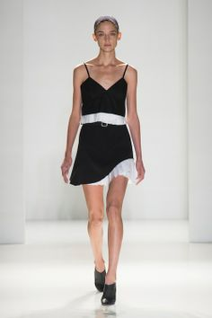 Bold Black & White (Victoria Beckham) It's true opposites attract, as the classic color combination of graphic, high-impact black and white proves its staying power in the collections of Victoria Beckham, Ralph Lauren and Narciso Rodriguez, to name a few.