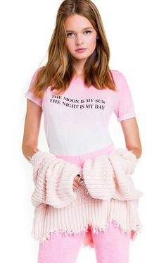 Girls Sleep Queen Long Pyjamas 10 to 16 Years Pink Black