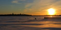 LENS and COVER: Ice Fishing Season Started in North Finland