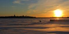 Ice Fishing Season Started in North Finland Ice Fishing, Finland, Seasons, Celestial, Activities, Adventure, Sunset, Wedding Anniversary, Lens