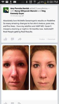 REDEFINE results! Christine.smithrf@gmail.com