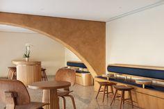 Image 23 of 23 from gallery of Deco Temple, Elixir Bunn Coffee Roasters / AZAZ Architects. Cafe Design, House Design, Bunn Coffee, Coffee Industry, Interior Architecture, Interior Design, Cafe Bistro, Cafe Bar, Minimalist Scandinavian