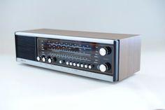 Serviced-70s-Rare-Vtg-Wood-REMA-Solo-230-Stereo-Transistor-Radio-Hifi-Germany