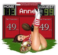 My 49ers girl tag I love it