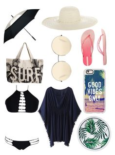 """""""🌊 something that I would wear 🌊"""" by lilymaegreen on Polyvore featuring Jennifer Ouellette, Rip Curl, Victoria Beckham, WithChic, Casetify, IPANEMA and Natico"""