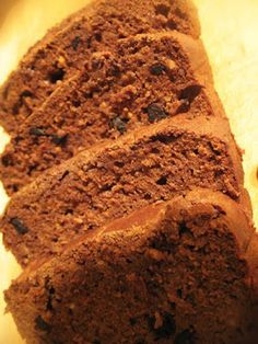 I think I might make this, healthy and looks yummy! quinoa chocolate ricotta bread