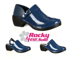 Rocky® 4EurSole™ Women's Patent Leather Clogs are made for performance-driven women. These shoes are all about comfort, united with versatility and great style.